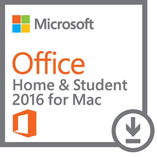 Microsoft Office Home & Student 2016 for Mac GZA-00638