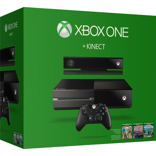 Microsoft  Xbox One   Kinect Bundle 7UV-00163