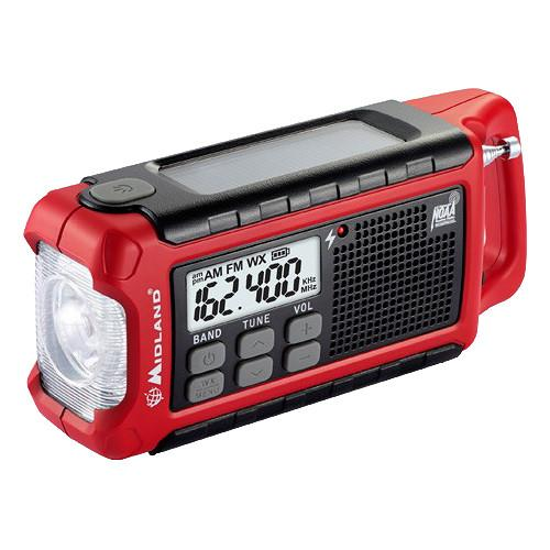 Midland E Ready ER210 Emergency Crank Weather Alert Radio ER210