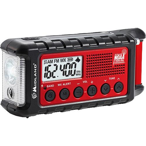 Midland E Ready ER310 Emergency Crank Weather Alert Radio ER310