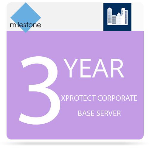 Milestone 3-Year Support For XProtect Corporate Base Y3XPCOBT