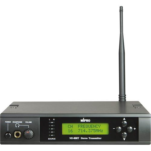 MIPRO 16-Channel UHF Stereo Transmitter MI-808T (6C)