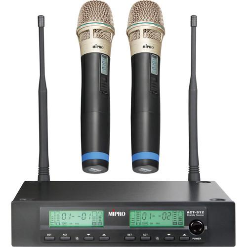 MIPRO ACT-312 Dual-Channel Diversity ACT-312/ACT-30H2 (6C)