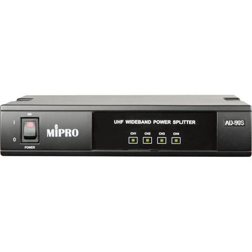 MIPRO AD-90S UHF 4-Channel Wideband Power Splitter AD-90S