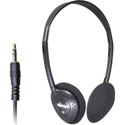 MIPRO Lightweight Stereo Headphones for MTG-100R Receiver E-20S