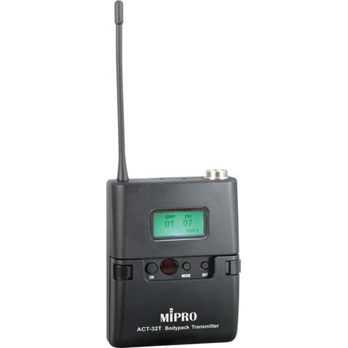 MIPRO Miniature Body Pack Wireless Transmitter ACT-32T (5NC)