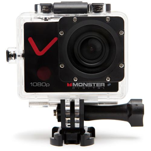 Monster Digital Villain Action Sports Camera CAMVA-1080-A