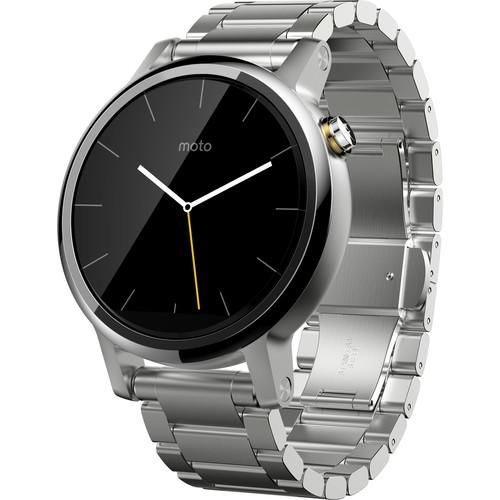 Motorola 2nd Gen Moto 360 42mm Men's Smartwatch 00823NARTL
