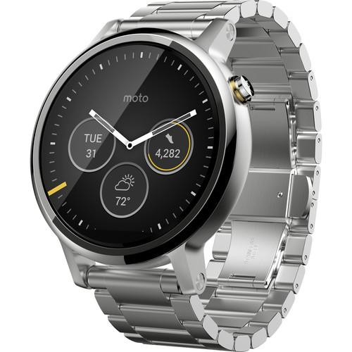 Motorola 2nd Gen Moto 360 46mm Men's Smartwatch 00814NARTL