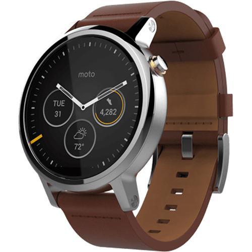 Motorola 2nd Gen Moto 360 46mm Men's Smartwatch 00820NARTL