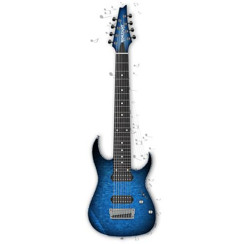 MusicLab MusicLB Realeight - 8-String Electric Guitar 12-41398
