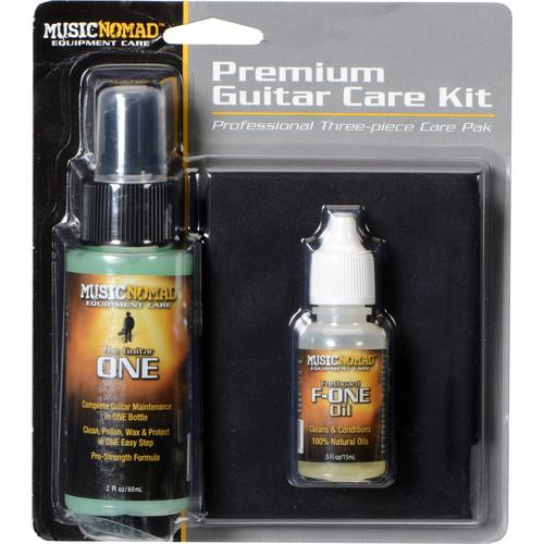 MUSICNOMAD MN140 Premium Guitar Care Pack with Guitar ONE, MN140