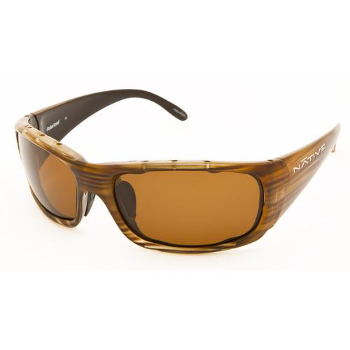 Native Eyewear Bomber Sunglasses (Wood - Brown Lens) 134 361 515