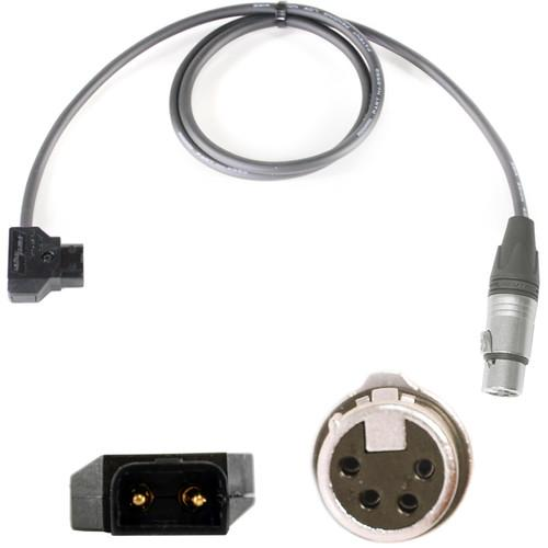 Nebtek PowerTap Male to 4-Pin XLR Male from XLR-XLR4-PTAP