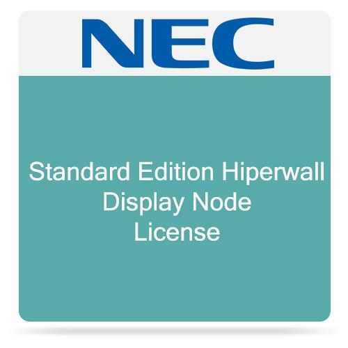 NEC Standard Edition Hiperwall Display Node License HWST-DISP