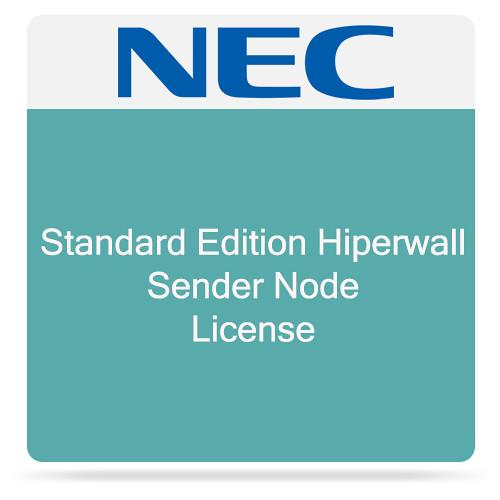 NEC Standard Edition Hiperwall Sender Node License HWST-SEND