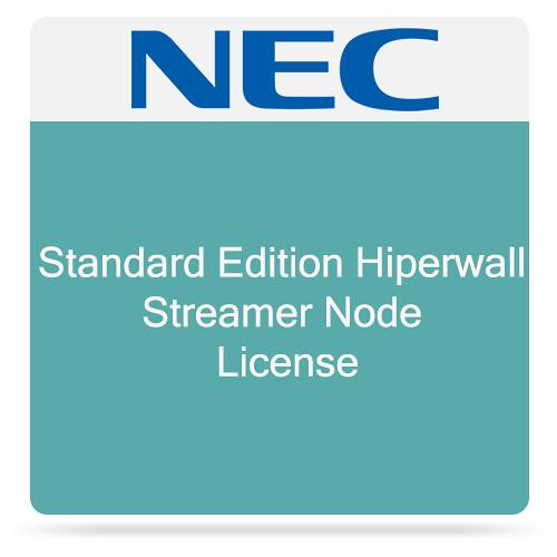 NEC Standard Edition Hiperwall Streamer Node License HWST-STRM