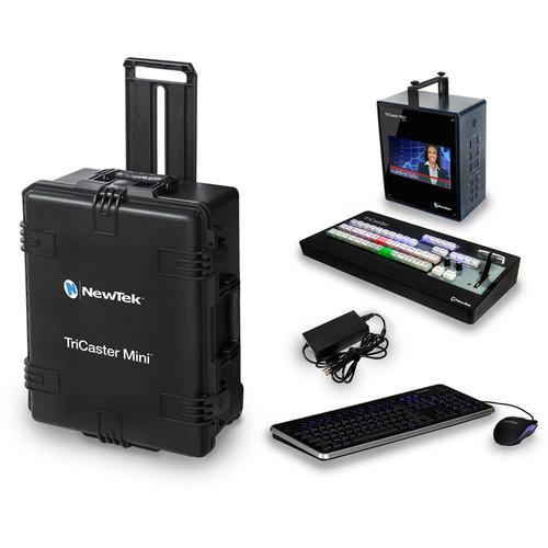 NewTek TriCaster Mini HD-4sdi Bundle with Control FG-001183-R001