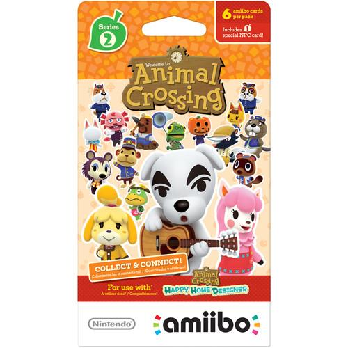 Nintendo Animal Crossing amiibo Cards Series 2 (6-Pack) NVLEMA6B