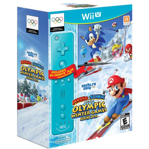 Nintendo Mario & Sonic at the Sochi 2014 Olympic WUPRAURE