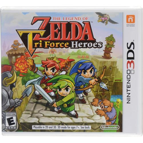 Nintendo The Legend of Zelda: Tri Force Heroes CTRPEA3E