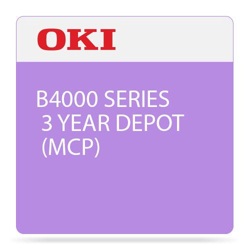 OKI 3-Year Depot Maintenance Contract for B4000 Mono 58267702