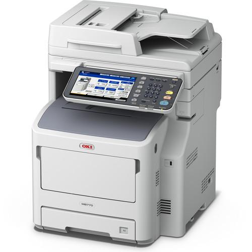 OKI MB770  All-in-One Monochrome LED Printer 62446101