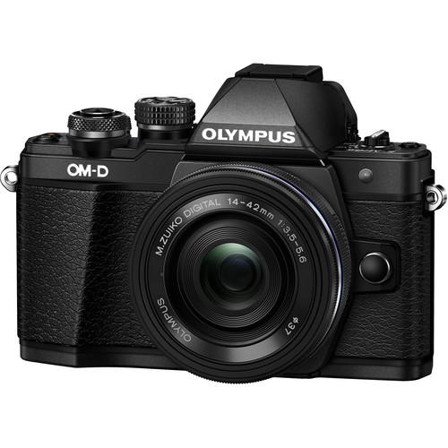 Olympus OM-D E-M10 Mark II Mirrorless Micro Four V207052BU000