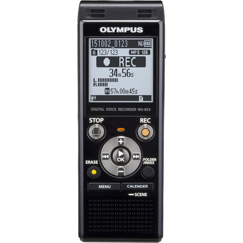 Olympus WS-853 Digital Voice Recorder (Black) V415131BU000
