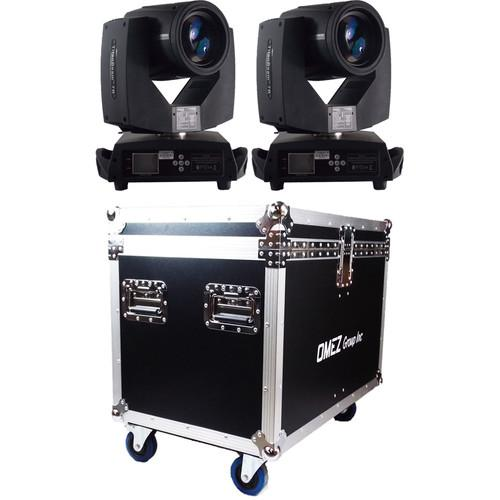 OMEZ TitanBeam 7R Moving Head Beam LED Fixture with Dual OM323