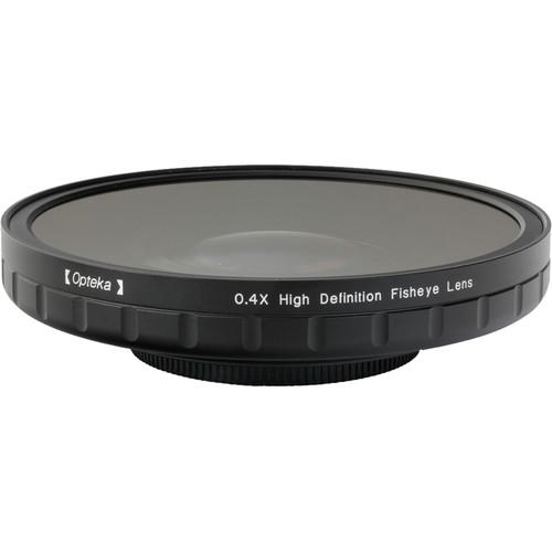 Opteka 0.4X HD2 Large Element 62mm Fisheye Lens OPTSC624PF