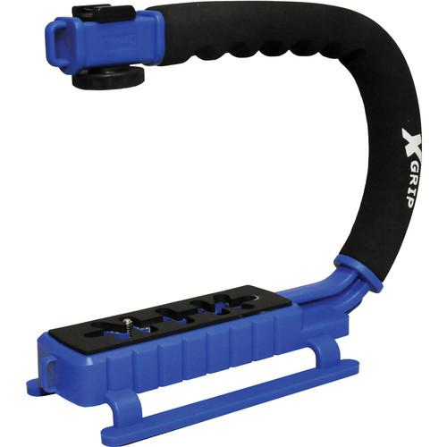 Opteka X-Grip Pro Video Stabilizing Handle (Blue) XGRIPBL