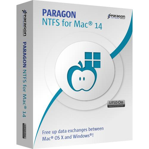 Paragon NTFS for Mac 14 (Download, Single) 601PEE