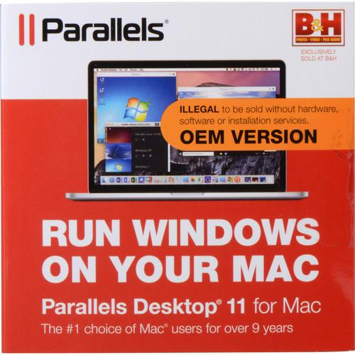 Parallels Desktop 11 for Mac (OEM) PDFM11L-OEM-1CD-BH-US