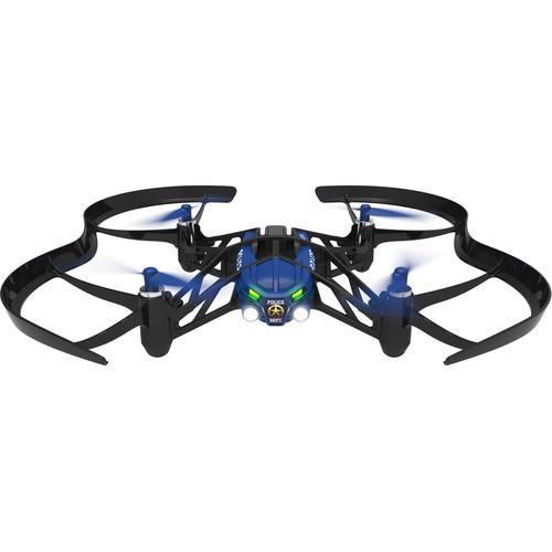 Parrot SWAT Airborne Night Minidrone (Blue) PF723100