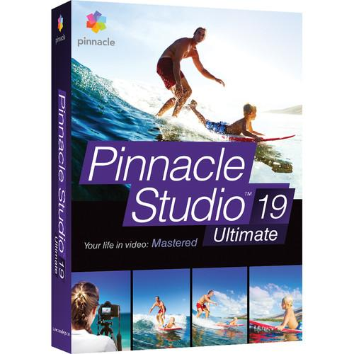Pinnacle Studio 19 Ultimate for Windows (Box) PNST19ULENAM