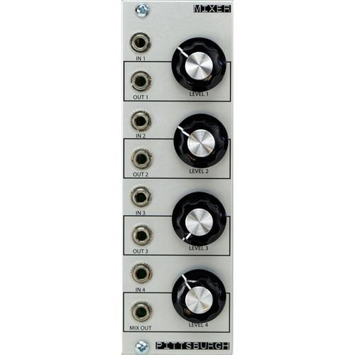 Pittsburgh Mixer - 4-Channel Mixer / Attenuator - PMS2014