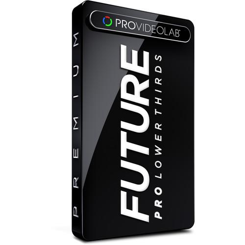 PRO VIDEO LAB Lower Thirds - Future (Download) L3_FUTURE