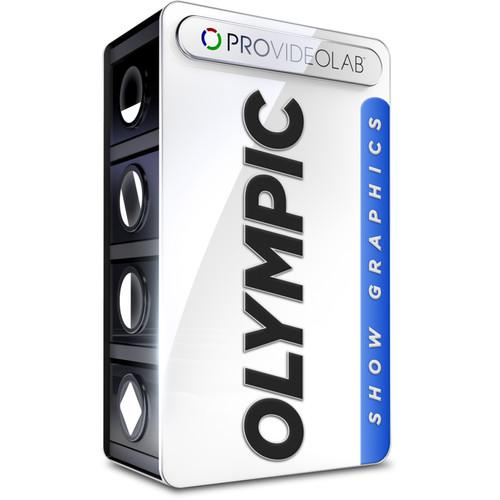PRO VIDEO LAB Olympic Show Graphics (Download) SHOW_OLYMPIC