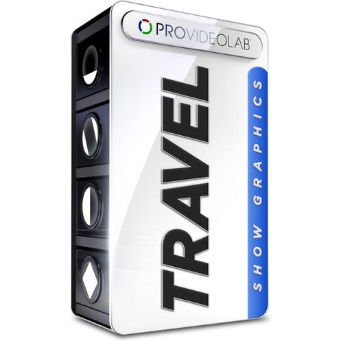 PRO VIDEO LAB Travel Show Graphics (Download) SHOW_TRAVEL