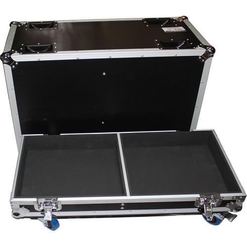 ProX ATA Flight Case for Two QSC-KW153 Speakers X-QSC-KW153