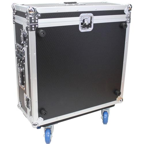 ProX Flight Road Case with Doghouse and Wheels XS-AHQU24DHW