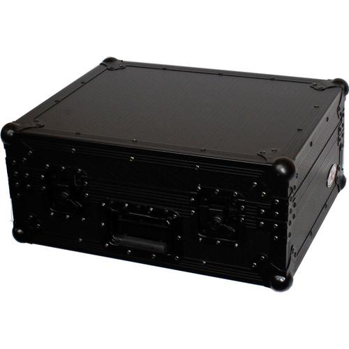 ProX T-TTBL Case for SL1200 Turntable (Black on Black) T-TTBL