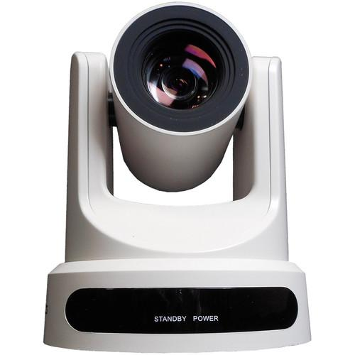 PTZOptics 20x-USB Video Conferencing Camera (White) PT20X-USB-WH