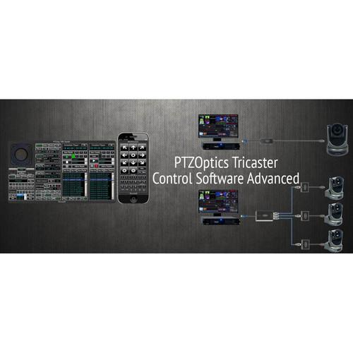 PTZOptics Tricaster Camera Control Software (Advanced) PTZ-T-2