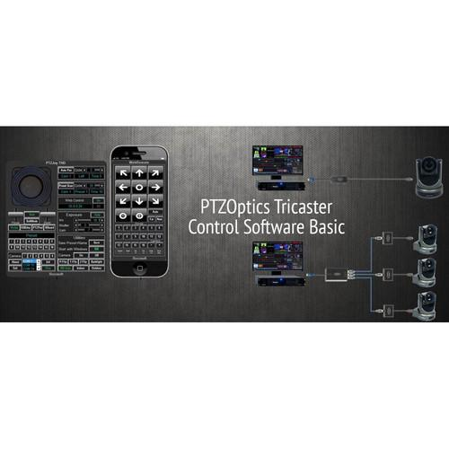 PTZOptics Tricaster Camera Control Software (Basic) PTZ-T-1