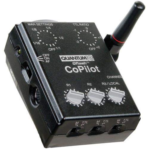 Quantum CoPilot Wireless TTL Flash Controller for Sony 860352