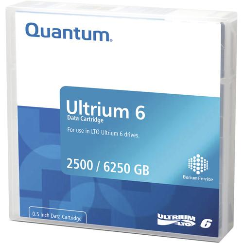 Quantum MR-L6MQN-BC LTO Ultrium 6-Tape Bar-Code MR-L6MQN-BC