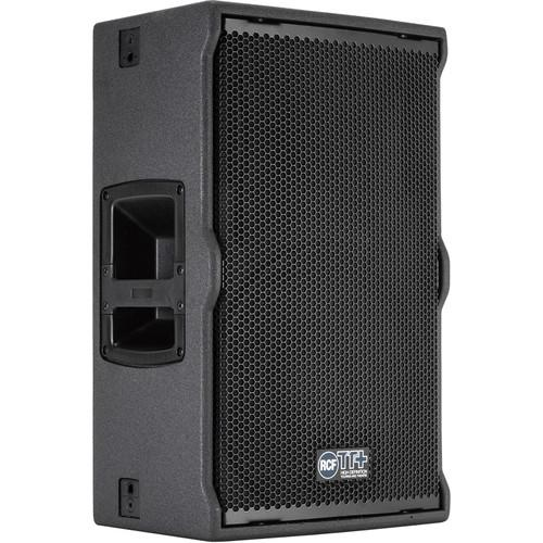 RCF TT22-A II 2-Way Active High-Output Speaker (Black) TT22-A II