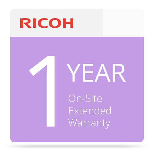 Ricoh 1-Year Extended On-Site Service Warranty 008014MIU-PS1